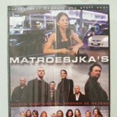 Series de TV: MATROESJKAS DE VOLLEDIGE SERIE 1&2 - 8 DVD. Lote 192156261