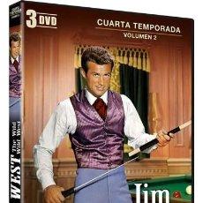 Series de TV: JIM WEST : 4ª TEMPORADA - VOL. 2. Lote 192157812