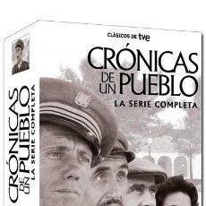 Series de TV: CRONICAS DE UN PUEBLO - SERIE COMPLETA - 17 DVD´S. Lote 192157956