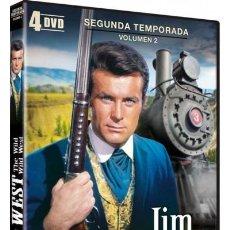 Series de TV: JIM WEST: 2ª TEMPORADA - 2ª PARTE. Lote 192157981