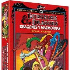 Series de TV: DRAGONES Y MAZMORRAS (ED COLECCIONISTA) (DUNGEONS & DRAGONS ). Lote 192158035