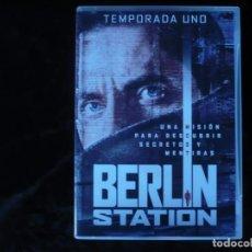 Series de TV: BERLIN STATION - DVD COMO NUEVOS . Lote 192163158