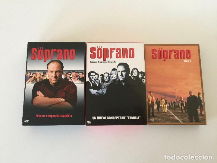 LOS SOPRANO DVD TEMPORADAS 1, 2, Y 3 - COMPLETOS (Series TV en DVD)