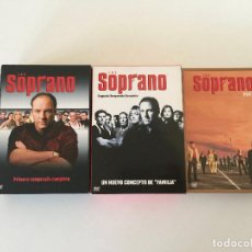 Series de TV: LOS SOPRANO DVD TEMPORADAS 1, 2, Y 3 - COMPLETOS. Lote 193284351