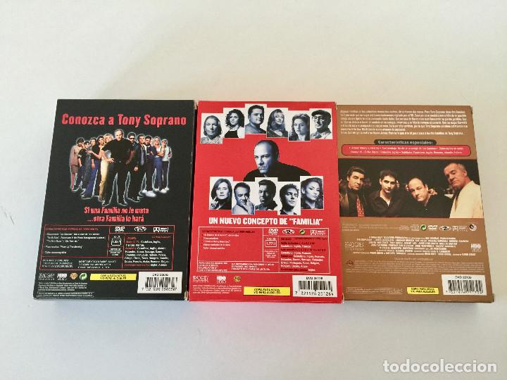 Series de TV: LOS SOPRANO DVD TEMPORADAS 1, 2, Y 3 - COMPLETOS - Foto 3 - 193284351