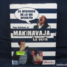 Series de TV: MAKINAVAJA - DVD LA SERIE . Lote 193578469