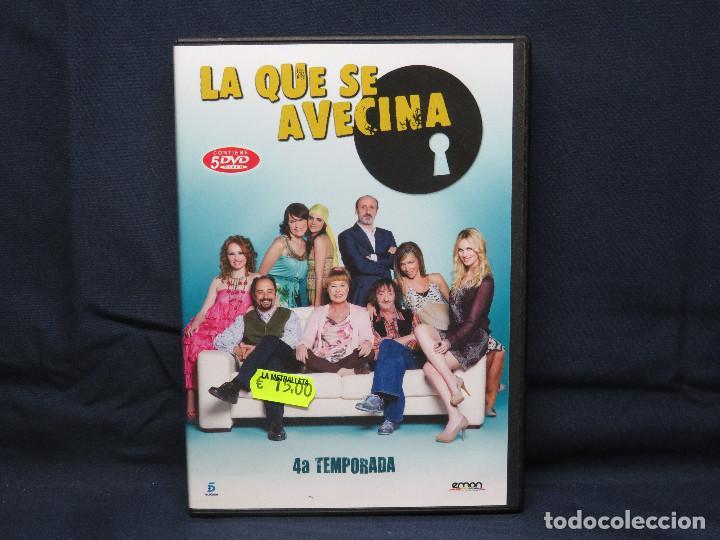 LA QUE SE AVECINA - DVD CUARTA TEMPORADA (Series TV en DVD)