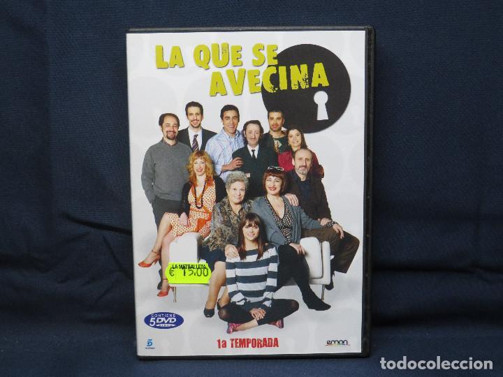 LA QUE SE AVECINA - DVD PRIMERA TEMPORADA (Series TV en DVD)