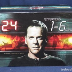 Series de TV: 24 TEMPORADAS 1 - 6 DVD . Lote 193579428
