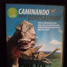 Series de TV: DVD ORIGINAL *CAMINANDO ENTRE DINOSAURIOS* (SERIE TV/VERSIÓN ÍNTEGRA). DESCATALOGADO. NUEVO.. Lote 124403671