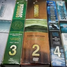 Series de TV: PERDIDOS. SERIE COMPLETA. 6 TEMPORADAS. DVD. Lote 194077785