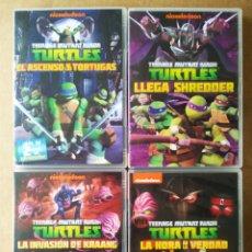 Series de TV: LOTE DVD TEENAGE MUTANT NINJA TURTLES/TORTUGAS NINJA TEMPORADA 1 (NICKELODEON/VIACOM, 2013).. Lote 194156185