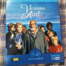 Series de TV: VERANO AZUL SERIE COMPLETA EN DVD 10 DISCOS. Lote 194171230