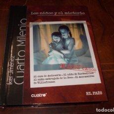 Series de TV: CUARTO MILENIO IKER JIMÉNEZ. Nº 1 LOS NIÑOS Y EL MISTERIO. EL PAÍS LIBRO + DVD, 2.008. Lote 194219483