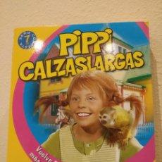 Series de TV: DVD PIPPI CALZASLARGAS -PLANETA JUNIOR, COMPLETA, 7 DVD'S Y 21 EPISODIOS- PIPI, INGER NILSSON. Lote 194228160