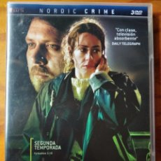 Series de TV: THE KILLING, CRONICA DE UN ASESINATO - SEGUNDA 2ª TEMPORADA COMPLETA- 3 DVDS SERIE TV.. Lote 194299500