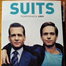 Series de TV: SUITS - 1ª TEMPORADA UNO, COMPLETA- 4 DVDS SERIE TV.. Lote 194299665