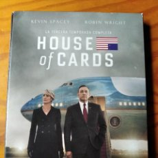 Series de TV: HOUSE OF CARDS- 3ª TEMPORADA TERCERA, COMPLETA- 4 DVDS SERIE TV.. Lote 194299772