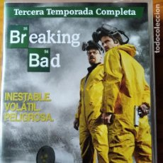 Series de TV: BREAKING BAD- 3ª TEMPORADA TERCERA, COMPLETA- 4 DVDS SERIE TV.. Lote 194300068