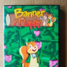 Series de TV: DVD BANNER Y FLAPPY VOLUMEN 1 (NIPPON ANIMATION/PLANETA JUNIOR, 1979). 100 MINUTOS.. Lote 194365577