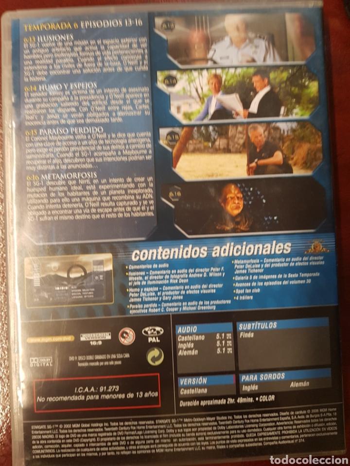 Series de TV: STARGATE SG.1 DVD TEMPORADA 6 DISCO 4 - Foto 2 - 194390545