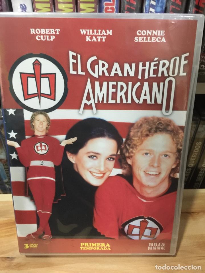 EL GRAN HÉROE AMERICANO ( PRIMERA TEMPORADA) DVD - PRECINTADO - (Series TV en DVD)