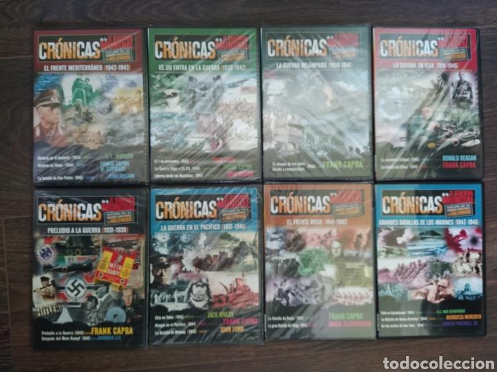COLECCIÓN DE 8 DVDS DE CRÓNICAS DE LA SEGUNDA GUERRA MUNDIAL, A ESTRENAR (Series TV en DVD)