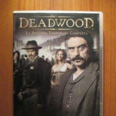 Series de TV: 'DEADWOOD' TEMPORADA 2 (2005) (4 DVD'S). Lote 194534648