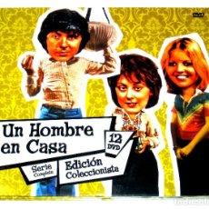 Series de TV: UN HOMBRE EN CASA (SERIE COMPLETA - 12 DISCOS) - RICHARD O'SULLIVAN PAULA WILCOX DVD DESCATALOGADA. Lote 194537001