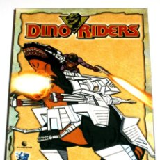 Series de TV: DINO RIDERS (DINORIDERS) (1988) - SERIE COMPLETA (13 EPISODIOS) - MARVEL - DVD DESCATALOGADA. Lote 194540300