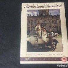 Series de TV: DVD BRIDESHEAD REVISITED V.O. RETORNO A BRIDESHEAD JEREMY IRONS ANTHONY ANDREWS + EXTRAS PRECINTADA. Lote 194579935