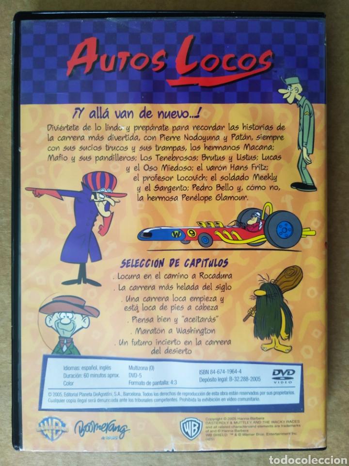 Series de TV: DVD Autos Locos (Planeta de Agostini, 2005). 60 minutos. 6 episodios. Hanna-Barbera. - Foto 2 - 194708187