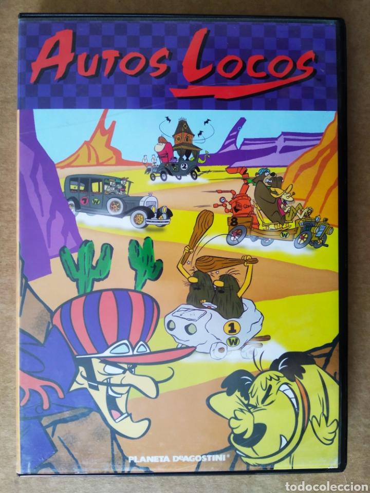 DVD AUTOS LOCOS (PLANETA DE AGOSTINI, 2005). 60 MINUTOS. 6 EPISODIOS. HANNA-BARBERA. (Series TV en DVD)