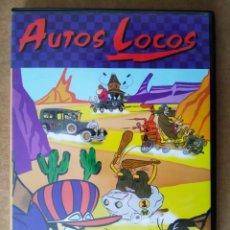 Series de TV: DVD AUTOS LOCOS (PLANETA DE AGOSTINI, 2005). 60 MINUTOS. 6 EPISODIOS. HANNA-BARBERA.. Lote 194708187