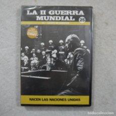 Series de TV: LA II GUERRA MUNDIAL N.º 25. AJUSTE DE CUENTAS. NACEN LAS NACIONES UNIDAS - DVD PRECINTADO . Lote 194723673