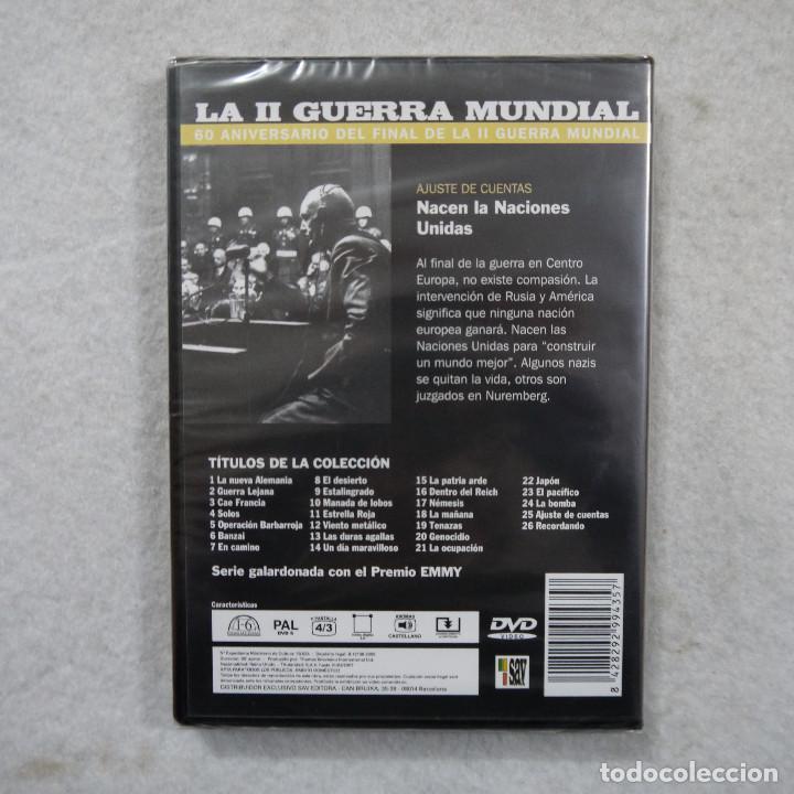 Series de TV: LA II GUERRA MUNDIAL N.º 25. AJUSTE DE CUENTAS. NACEN LAS NACIONES UNIDAS - DVD PRECINTADO - Foto 2 - 194723673