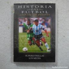 Series de TV: HISTORIA DEL FÚTBOL 5. SUPERESTRELLAS. LA MEDIA - DVD. Lote 194724343