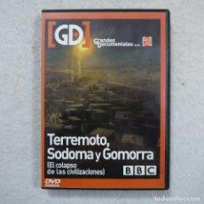 Series de TV: GRANDES DOCUMENTALES DE LA 2. TERREMOTO, SODOMA Y GOMORRA - DVD . Lote 194724776