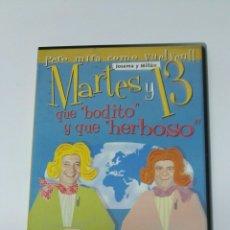 Series de TV: MARTES Y TRECE QUE BODITO Y QUE HERBOSO DVD. Lote 194886225