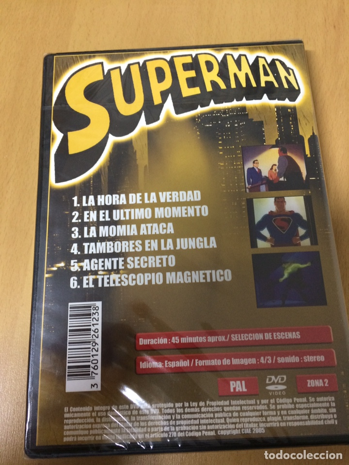 Series de TV: Superman volumen 3. Serie animada. 6 episodios. - Foto 2 - 194891346