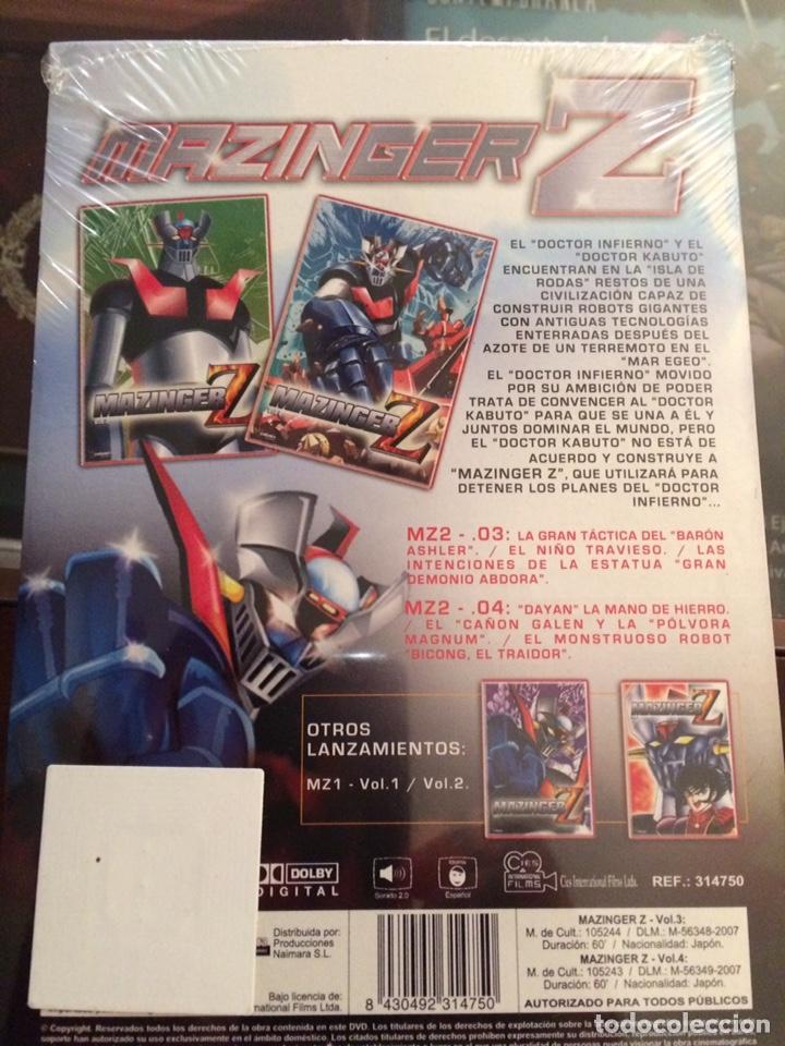 Series de TV: Mazinger Z . Especial coleccionista. Vol 2. Precintada - Foto 2 - 194896172