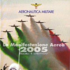 Series de TV: AERONAUTICA MILITARE. LA MANIFESTAZIONE AEREA 2005. 2 X DVD. Lote 194908273