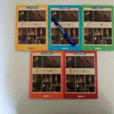 Series de TV: 5 DVD GRAN HOTEL PRIMERA TEMPORADA COLECCIÓN LA RAZÓN VER FOTOS.. Lote 194941616