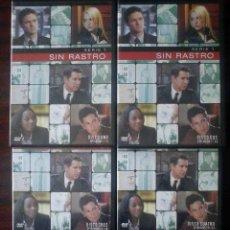 Series de TV: TODODVD: SIN RASTRO PRIMERA TEMPORADA COMPLETA - 4 DVD CAPÍTULOS 1 - 23. Lote 194974180