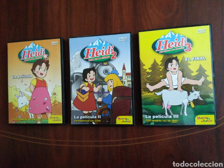 HEIDI LA PELÍCULA ( 3 DVD ) (Series TV en DVD)