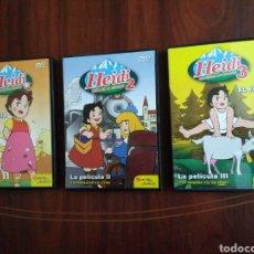 Series de TV: HEIDI LA PELÍCULA ( 3 DVD ). Lote 194974186