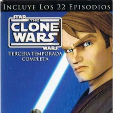 Series de TV: STAR WARS THE CLONE WARS TERCERA TEMPORADA COMPLETA . Lote 195018961