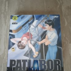 Series de TV: DVD. PATLABOR. SERIE ANIME COMPLETA. 63 EPISODIOS. PRECINTADO.. Lote 195028806
