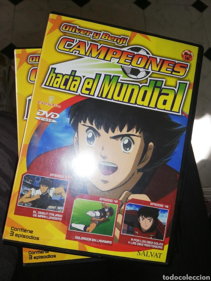 8 DVDS OLIVER Y BENJI CAMPEONES HACIA EL MUNDIAL (3 EPISODIOS CADA UNO) 2001 (Series TV en DVD)