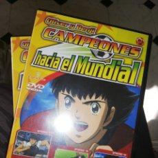 Series de TV: 8 DVDS OLIVER Y BENJI CAMPEONES HACIA EL MUNDIAL (3 EPISODIOS CADA UNO) 2001. Lote 195196181